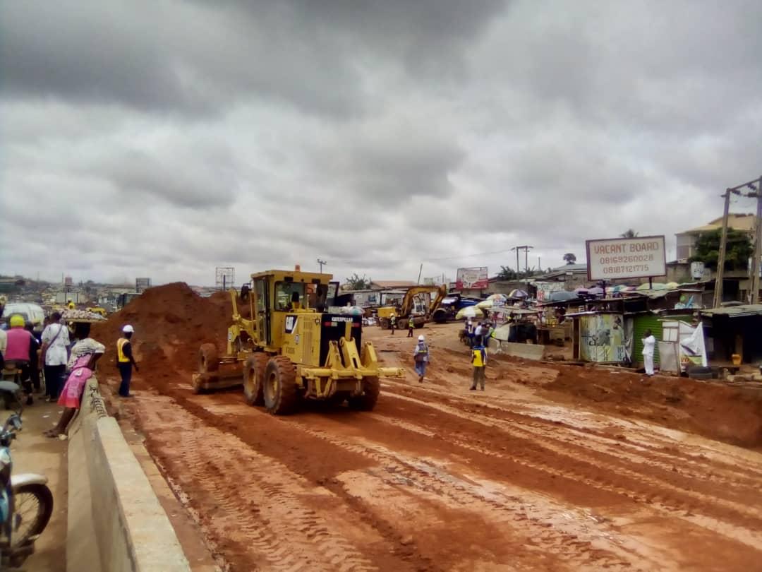 Lagos-Ogun toll gate rehabilitation underway